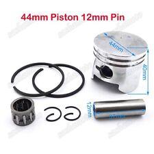 44mm Piston 12mm Pin Ring Needle Bearing For 49cc Pocket Dirt Bike Mini ATV Quad