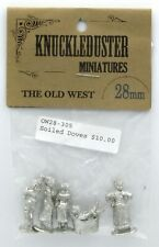 Knuckleduster OW28-305 Soiled Doves (The Old West) Female Civilians MIniatures