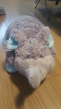 Hug A Pet Pillow Grey Elephant Cuddly