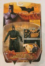 Mattel 2005 Batman Begins Movie Battle Gear Batman Bale Figure Moc Dark Knight