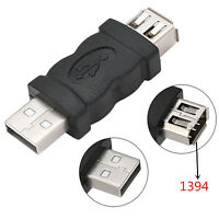 Firewire IEEE 1394 6 Pin Female to USB Type A Male Adaptor Adapter