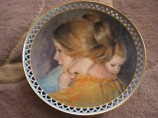 "B&G Joanna & Jon The Gentle Love Plate A. Heesen Cooper, 8 1/4"" Diameter"