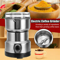 Electric Coffee Bean Grinder Home Stainless Steel Nut Spice Blender Machine