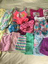 Baby Girl 18 Month Assorted Clothing Lot 18 pieces leggings tops swim suit short