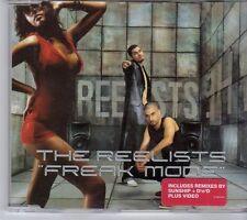 (EW737) The Reelists, Freak Mode - 2002 CD