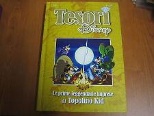 I TESORI DISNEY - VOLUME N. 6 - LE PRIME  IMPRESE DI TOPOLINO KID - CARTONATO