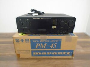 Marantz Digital Monitoring Amplifier PM-45 Boxed Fully Tested Working