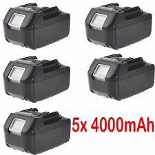5x 18V 4.0AH Akku für Makita BL1830 BL1840 BL1815 BL1860  LXT Lithium Ion NEU