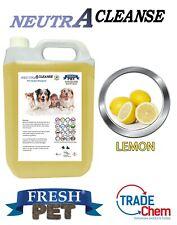 Carpet Cleaning Shampoo Solution Pet odour eliminator Lemon Low Foam 5L NEUTRA