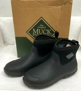 Muckster ll Ankle-Height Men's Rubber Garden Boots, Black, 12 M US