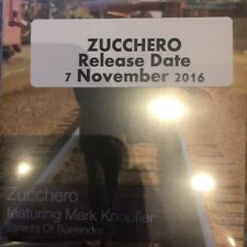 ZUCCHERO FT MARK KNOPFLER (DIRE STRAITS) STREETS OF SURRENDER 1 TRACK PROMO  CD