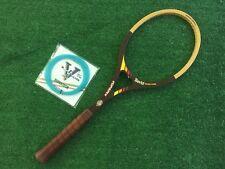 Davis Topspin Diagonal Display Wood Vintage Wooden Tennis Racquet 4 1/2 New