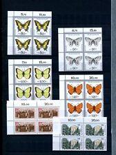 Bund 1987 - 1992 ** 4er-Block-Sammlung