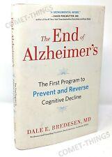 End of Alzheimer's : Prevent and Reverse Cognitive Decline Dale Bredesen V Good
