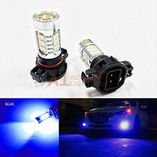 2x Blue H16 5202 9009 15w High Power Bright Car LED Bulbs 5730 15-SMD Fog light