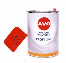 Füllspachtel Spachtel Auto Spachtelmasse AVO Plast 5Kg inklusive Härter A010150