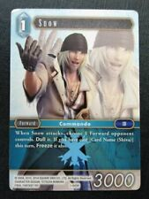 Snow 1-043H played - Final Fantasy Cards # 6H53