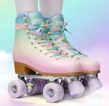 New Impala Pastel Fade roller skates sz 6 Vegan (Moxi Lolly Beach Bunny Panther)