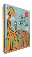 Usborne That's Not My 2 Books Zebra's Colours + Taller and Shorter Baby New