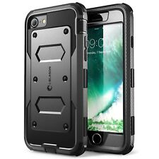 Apple iPhone 8 Case Dual Layer Military Tough Cover Built in Screen Protector