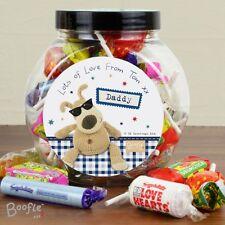 Tarro De Regalo Personalizado Boofle dulce relleno para él, cumpleaños, papá, hermano, hijo