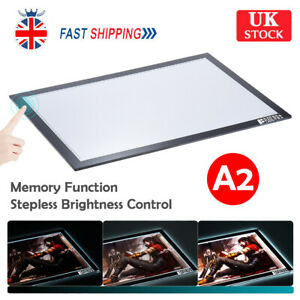 A2 LED Drawing Copy Board Tracing Light Box Stencil Art Craft Table Panel Pad