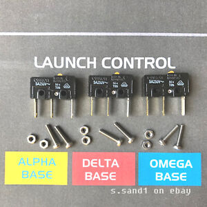 Atari Missile Command Arcade Fire Button Rebuild / Microswitch Kit