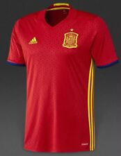 Adidas World Cup SPAIN Home Soccer Jersey Men's 2016 / 17 Size XL Climacool