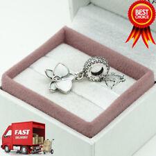 ORIGINALE Pandora, White Orchid, Fiore, Ciondolo, bracciale Charm 791554EN12