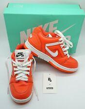Supreme X Nike SB Air Force 2 Orange UK 3.5