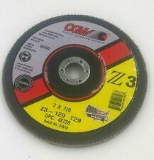 CGW Flap Disc 7x7/8  Z3 -120