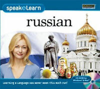 Speak & Learn RUSSIAN  Win XP Vista 7 8 10 MAC   New Sealed  Easy to Learn