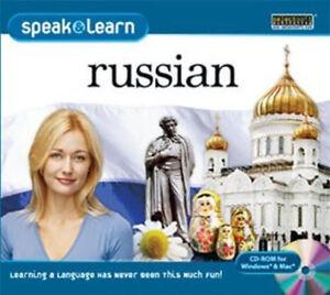 Speak & Learn RUSSIAN  Win XP Vista 7 8 10 MAC   New Sealed  Easy to Learn