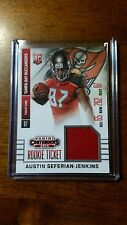 2014 Panini Contenders Rookie Ticket Swatches RTS-6 Austin Seferian-Jenkins Card