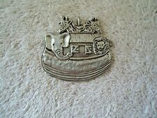 "Vintage Noahs Ark Pewter ? Necklace Pendant "" BEAUTIFUL COLLECTIBLE ITEM """