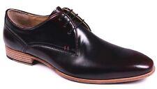 Vestido de Boda Zapatos Para Hombre De Cuero Con Cordones Inteligente Formal Talla Hi-Shine
