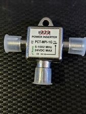 PCT Power Inserter Cable TV Drop Amplifier Signal Booster (PCT-MPI-1G)  NEW!!