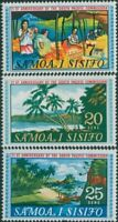 Samoa 1968 SG302-304 South Pacific Commission set MNH