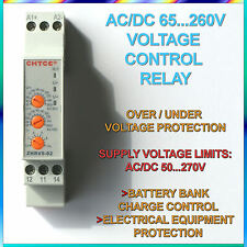 AC/DC 65 V ~ 260 V Protection contre sur/sous tension réglable relais de protection