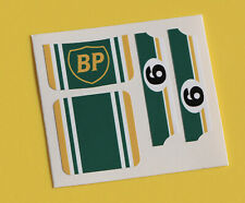 MATCHBOX SUPERFAST No.9 ESCORT RS2000 'BP' sticker decal reproductions