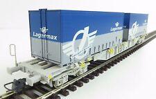 """Roco 66622 Doppeltragwagen """" Lagermax """" der AAE, OVP, neuwertig ! (MB052)"""