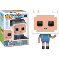 Adventure Time - Finn Minecraft #411 Pop! Vinyl