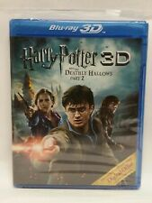 Harry Potter And The Deathly Hallows Part II 3D/2D Blu Ray Brand New Sealed