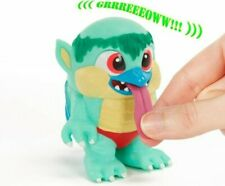 "Cappa Crate Creatures Surprise! Flingers Pull Tongue 4"" vinyl Monster Figure"