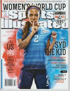 Sydney Leroux Sports Illustrated Magazine JUNE 8 2015 World Cup USWNT NO LABEL