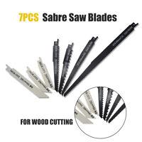 7x 56-300mm HCS/BIM lames de scie sabre récipro égoïne Pour bois et métal