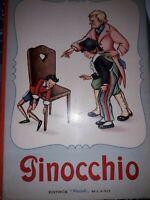 """Rare """"Pinocchio"""" tiré du conte de Giovani Burdese dessins Mariapia Ed. Piccoli ."""