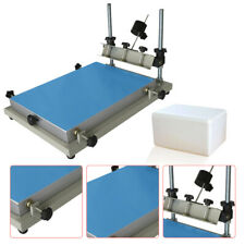 Solder Paste Printer Pcb Smt Stencil Printer 300x240mm Printing Machine Us Ship