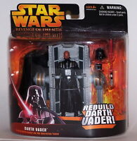 Star Wars Revenge of the Sith Rebuild Darth Vader 2005 NIP