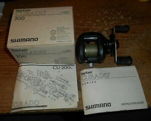 SHIMANO BANTAM CURADO 200 CU-200 BAITCASTING REEL/IN BOX/TOUGH!